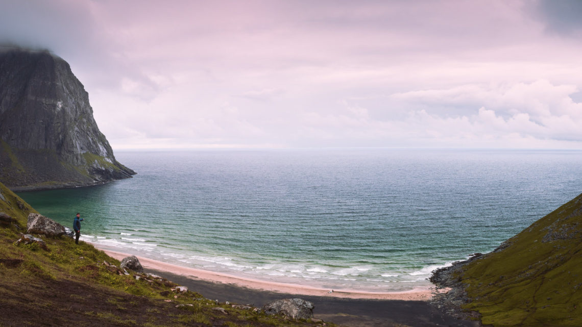 Stunning Landscape photography of Kvalvika Beach