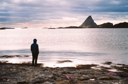 Sunrise view on RØST island