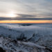 Sunset View from Sněžka Mountain