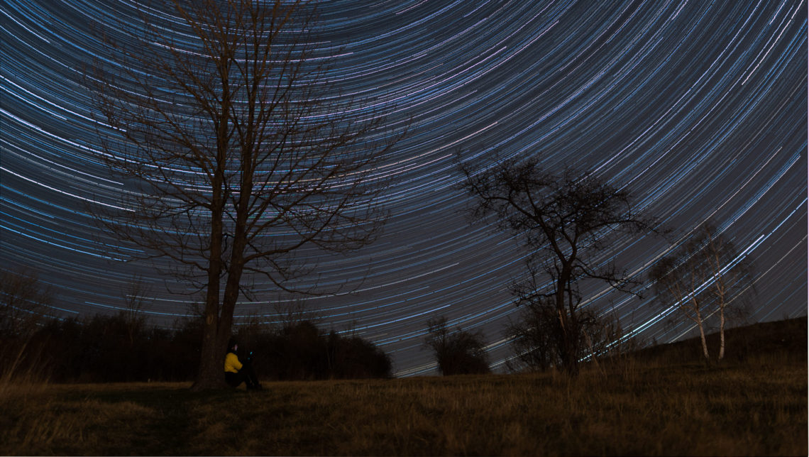 Star Trails in Prague