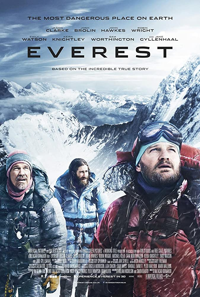 Movie Poster - Everest
