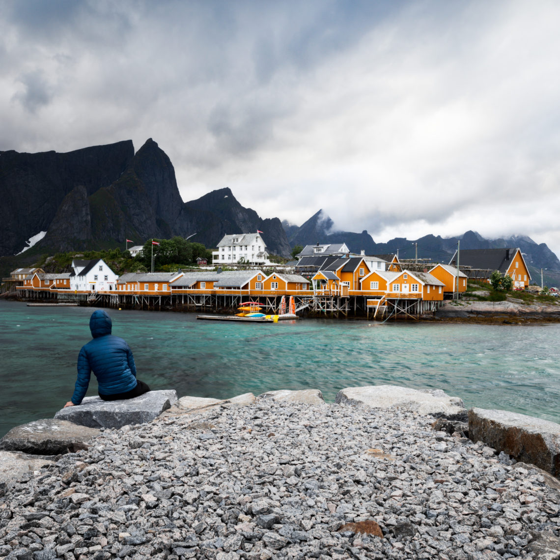 Sakrisoy view in Lofoten - Norway